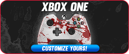 Blood Splatter Xbox ONE Custom Controllers