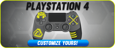 Infinite War Playstation 4 Custom Controllers