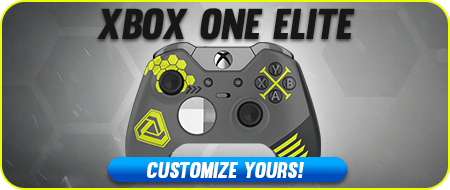 Infinite War Xbox One Elite Custom Controllers