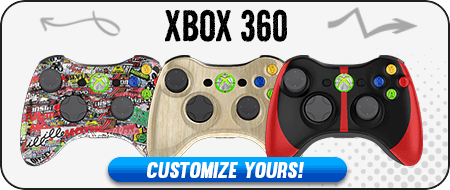 Mlg Custom Painted Xbox  Controllers