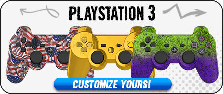 Modded PlayStation 3 Custom Controllers