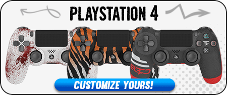 Modded PlayStation 4 Custom Controllers